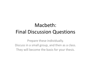 macbeth s character