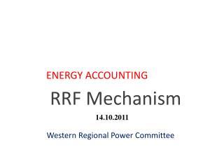 RRF Mechanism