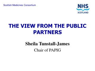 THE VIEW FROM THE PUBLIC PARTNERS