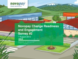 Novopay Change Readiness and Engagement  Survey 2