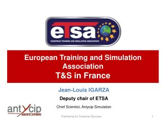 European Training and Simulation Association TS in France