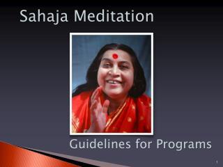 Sahaja Meditation