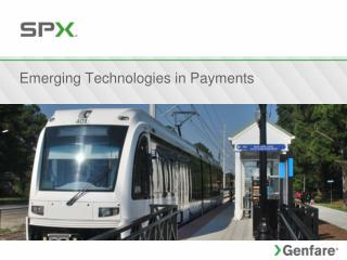 Emerging Technologies in Payments