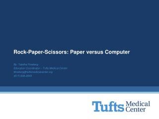 Rock-Paper-Scissors: Paper versus Computer