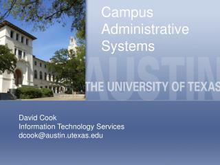 campus administrative systems