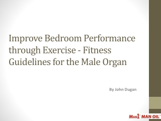 Improve Bedroom Performance through Exercise - Fitness Guide