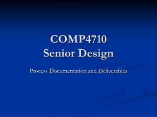 COMP4710 Senior Design