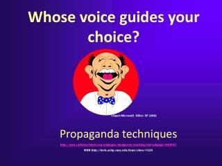 Propaganda techniques carlisleschools