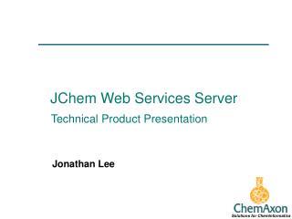 JChem Web Services Server