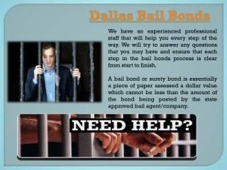 Dallas Surety Bond