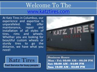 Columbus Tire Shop - Tire Repair