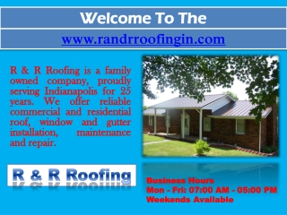 Metal Roofing Indianapolis - Commercial Roofing Contractor - Roof Repair
