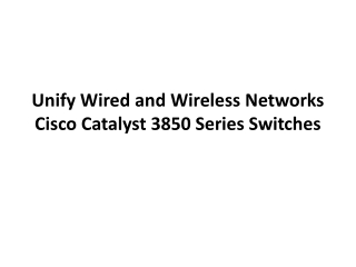 Easy Way to Recover Password on Cisco Catalyst 3850