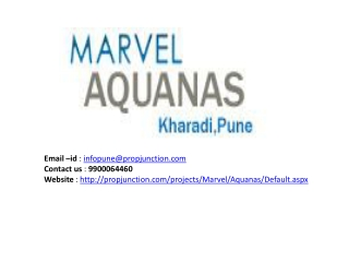 Marvel Aquanas Pune