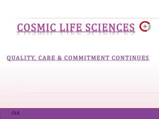 COSMIC LIFE SCIENCES