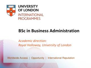 BSc in Business Administration
