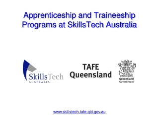 Apprenticeship and Traineeship Programs at SkillsTech Austra