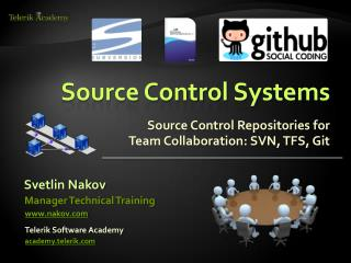 Source Control Systems