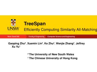 TreeSpan Efficiently Computing Similarity All-Matching