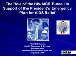 the role of the hiv