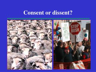 Consent or dissent