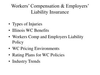 workers  compensation  employers  liability insurance