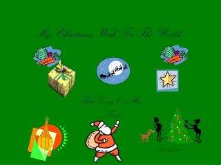 My Christmas Wish For The World