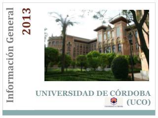 UNIVERSIDAD DE C RDOBA UCO