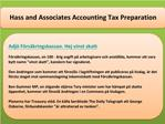 Hass and Associates Accounting Tax Preparation Adjö Försäkri