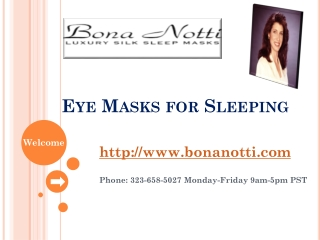 Designer Eye Mask for Sleeping
