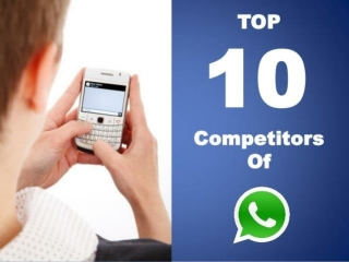 The Top 10 Competitors Of WhatsApp