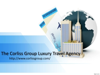 The Corliss Group travel: Barcelona Tourist Guide -