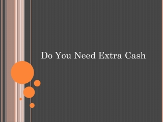 Get extra cash to avoid any financial cliff in your success