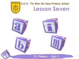 Lesson Seven