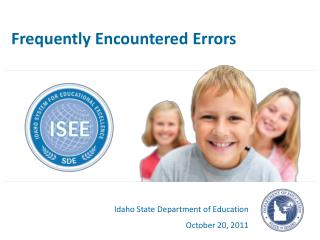 Frequently Encountered Errors