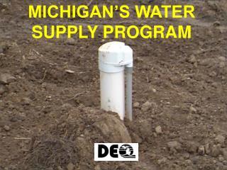 michigan s water supply program