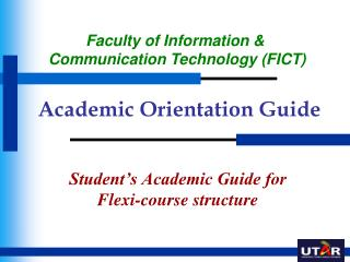 Academic Orientation Guide