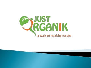 Online Organic food Store in India |Organic products
