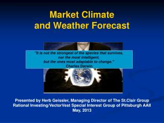 Market Climate and Weather Forecast