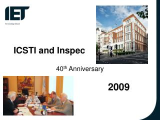 ICSTI and Inspec