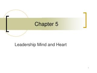 Leadership Mind and Heart
