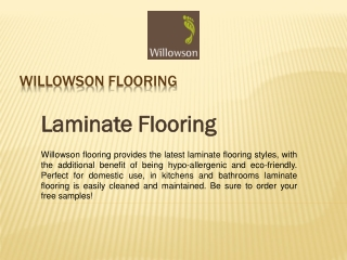 Willowson Flooring