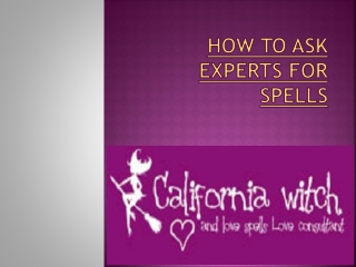 How to Ask Experts for Spells