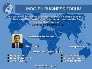 INDO-EU BUSINESS FORUM