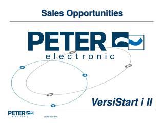 Sales Opportunities