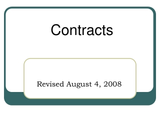 administer vendor contracts