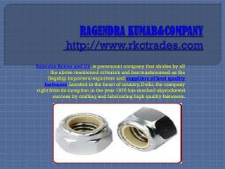 screws manufacturers delhi