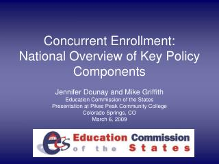 State-Level Concurrent Enrollment Policies - Education Commission ...