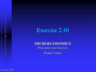Exercise 2.10