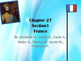 Chapter 27 Section1  France
